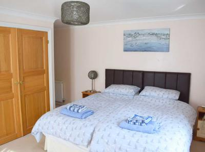 The Moorings master bedroom